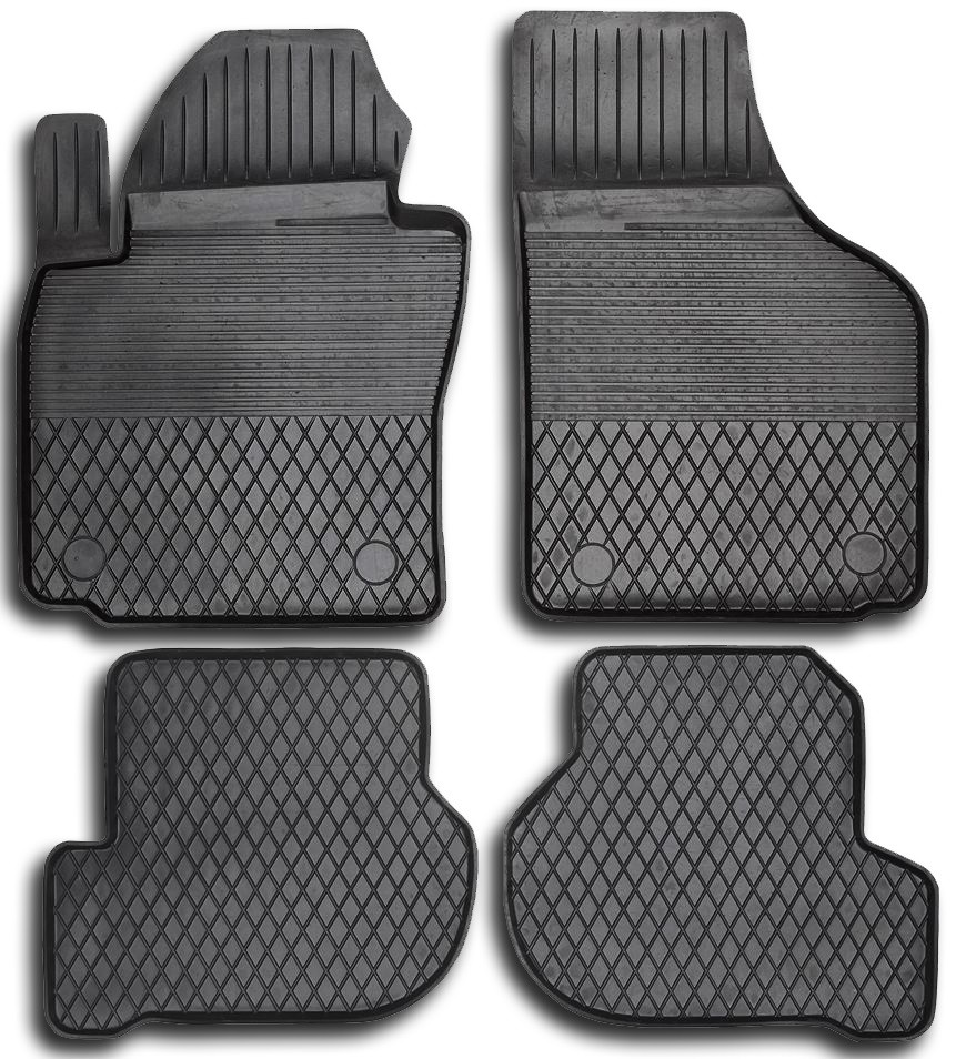 Gummi måtter Audi A3/ A3-S3, gummi måtter til din bil