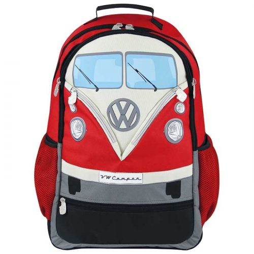RYGSÆK VW T1 BUS, RØD