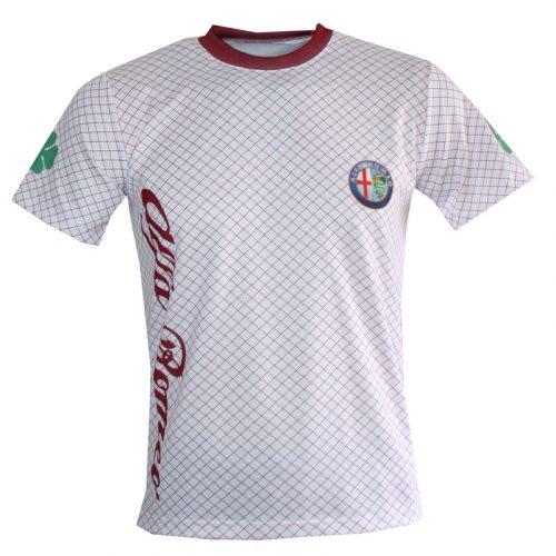 Alfa Romeo (Hvid/Rød)