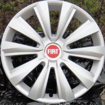 """Fiat 500 14"""" - Sætpris 4 stk"""