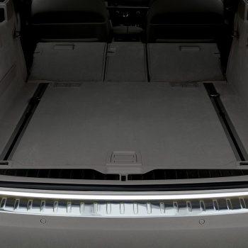 BMW 5 F11 Touring profiled ribs chrome 2010-